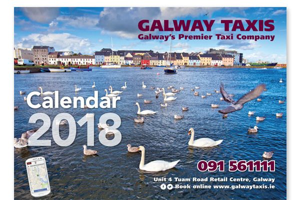 Galway Taxis Calendar