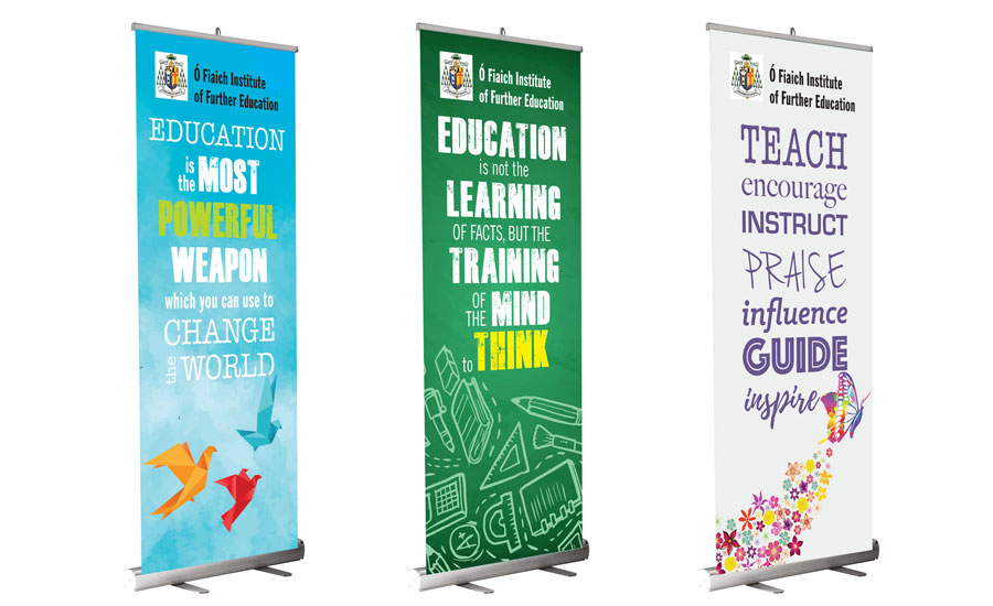 pull-up banner printing galway