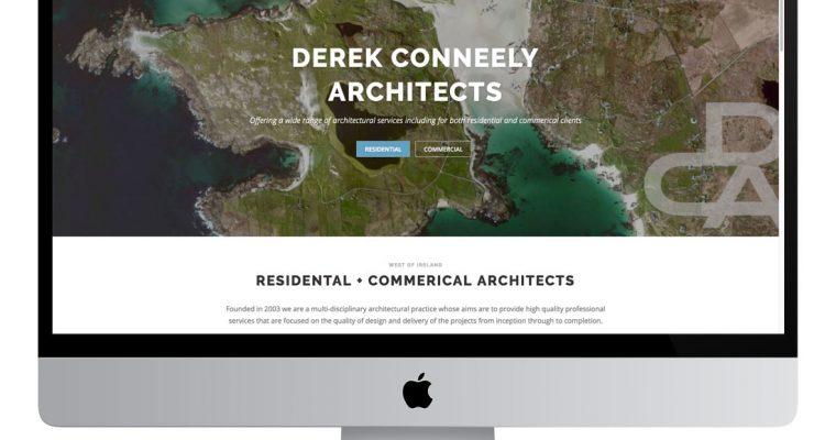 Derek Conneely Architects Website Design