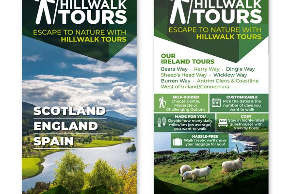 Hillwalk Tours Brochures