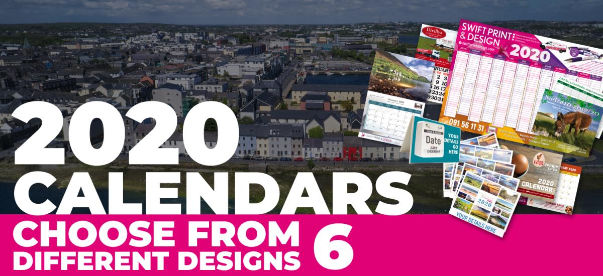 Galway 2020 Calendar Printing