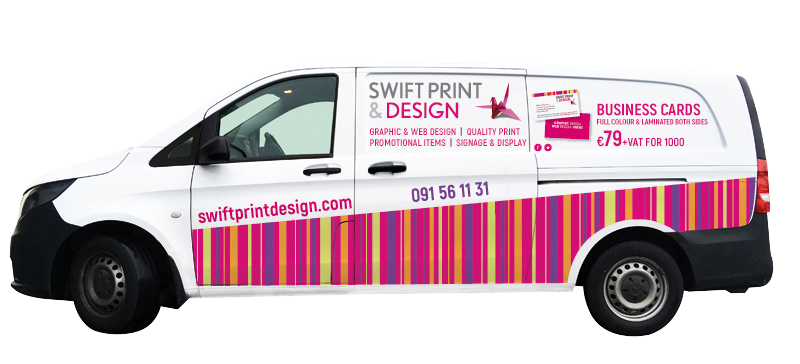 swift print and design van