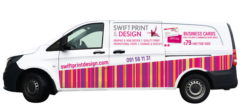 swift print & design van