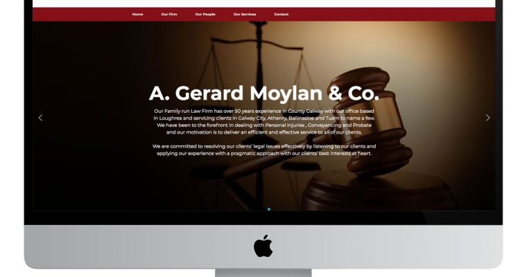 A.G. Moylan Solicitors Website