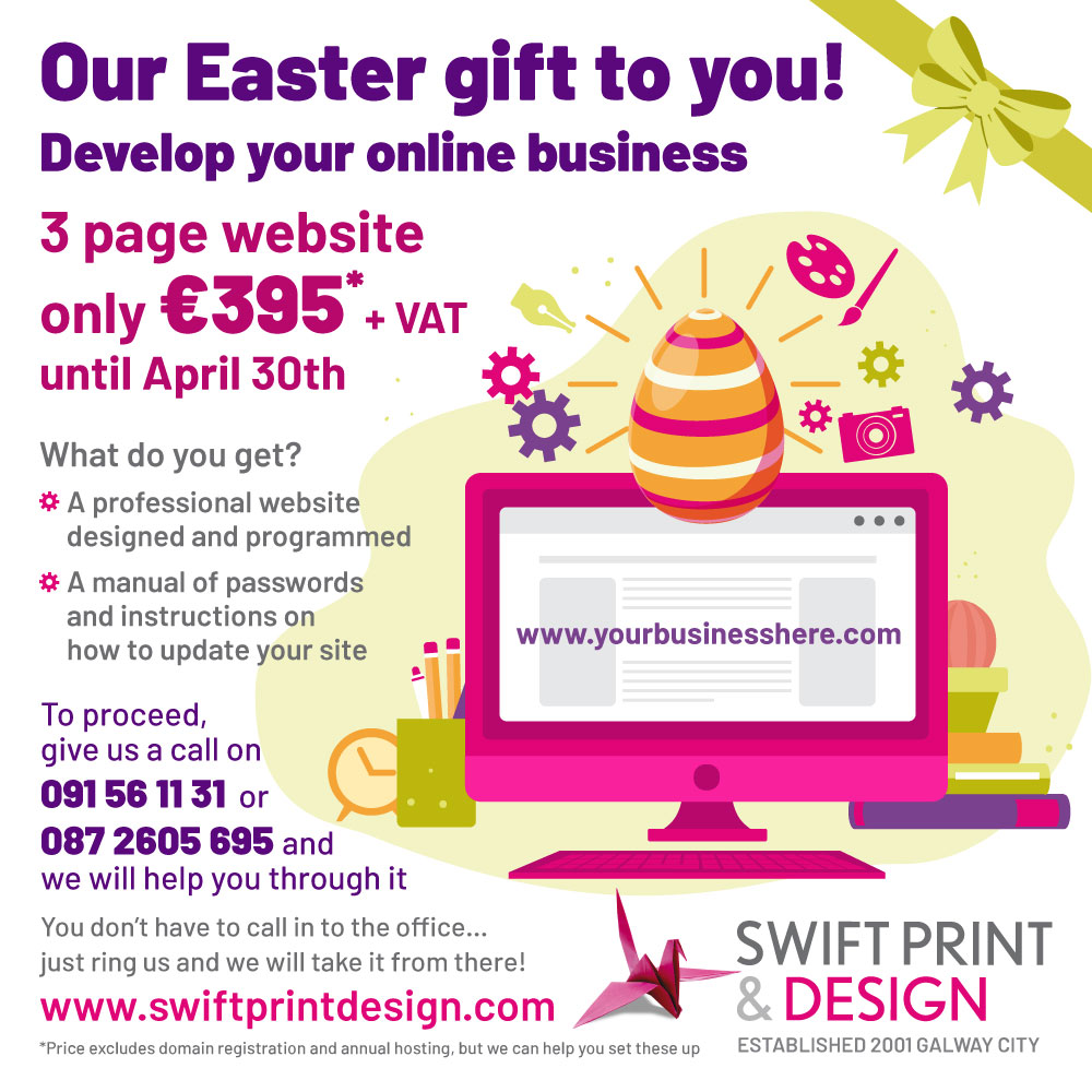 our easter gift to you develop your online business