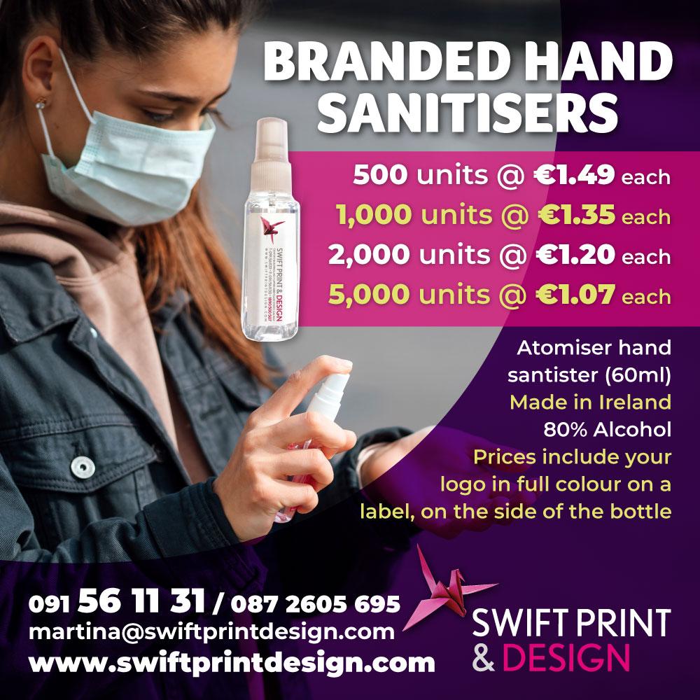 branded hand santisers
