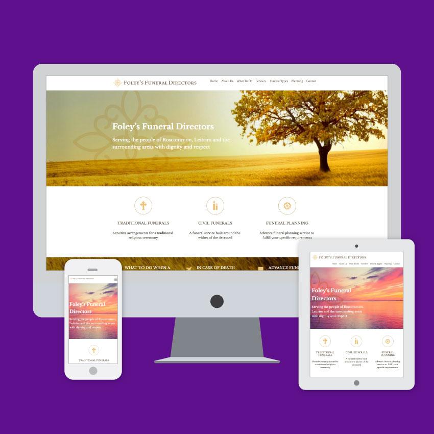 foley's funeral directors website