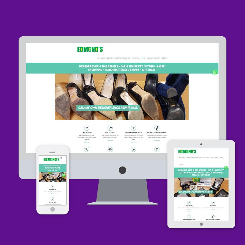 edmonds shoe repairs website