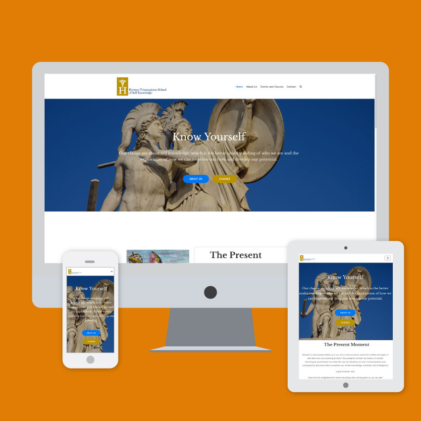 hermes trismegistus web design