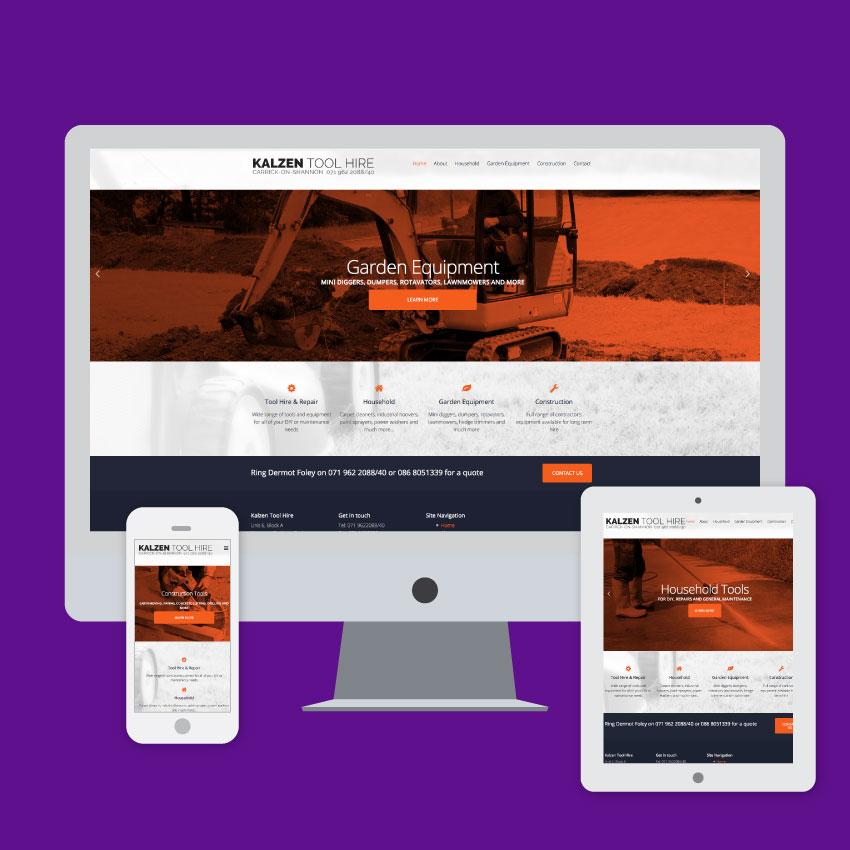 kalzen tool hire website