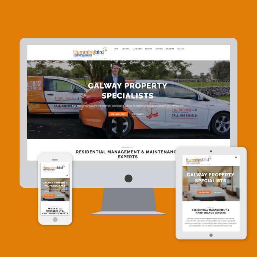 hummingbird property management website