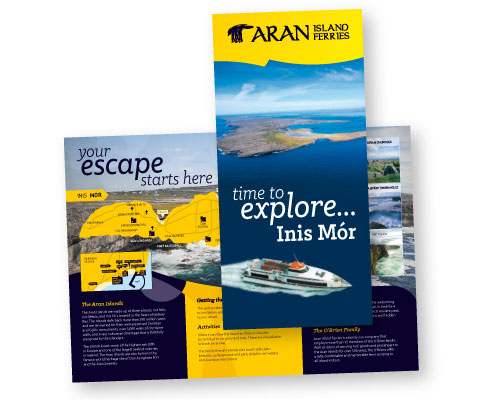 a4 to dl brochure printing